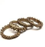 perrygargano Tentacle Napkin Rings Set of 4