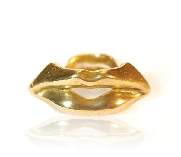 perry gargano Pucker Up Lips Ring