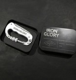 Iron and Glory Deluxe Carabiner Pocket Knife