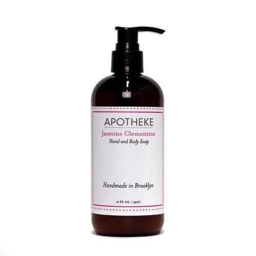 apotheke liquid soap jasmine clementine