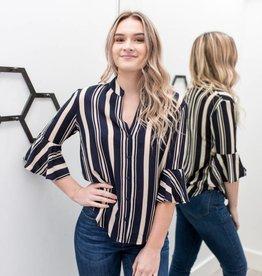 Luna Stripe Shirt
