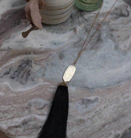 Tessa Tassel Necklace