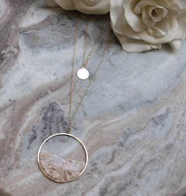 Moxie Acetate Necklace