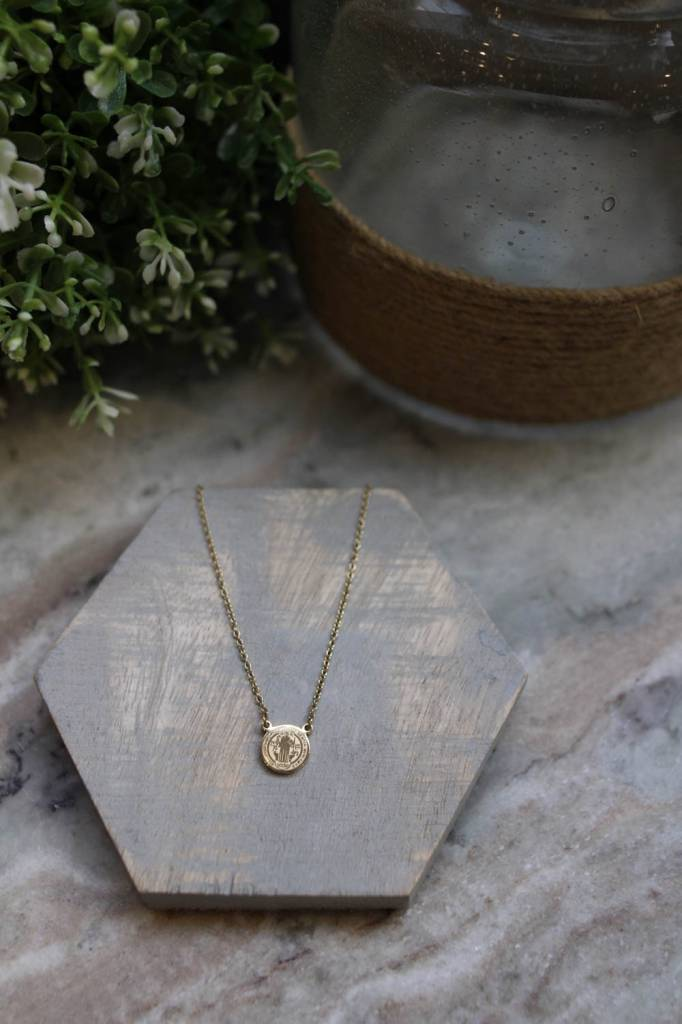 Livia Mini Saint Necklace