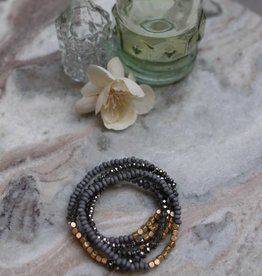 Fern Beaded Bracelet