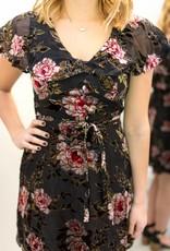 Velveteen Rose Dress