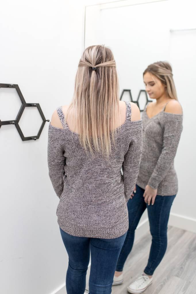 Hometown Shoulder Sweater