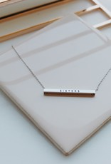 Sisters Horizontal Necklace