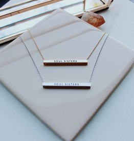 Soul Sisters Horizontal Necklace
