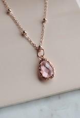 PG - Violet Opal Stone Necklace