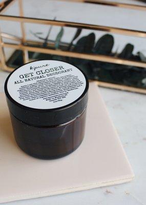 Kpure - Get Closer Deodorant