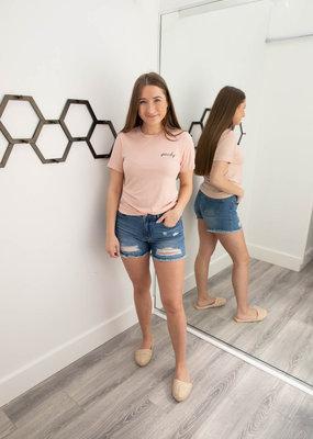 Look Alive Denim Shorts