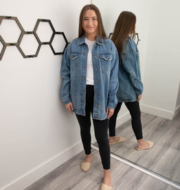 No Brainer BF Denim Jacket