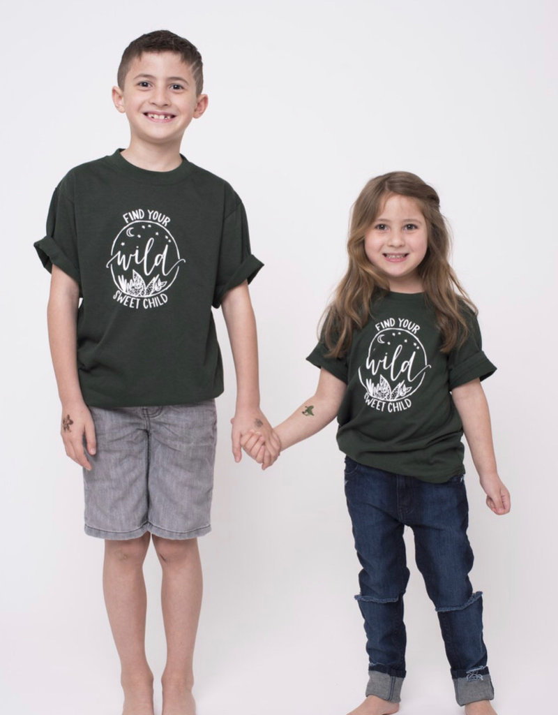 SLA - Find Your Wild Kids Tee