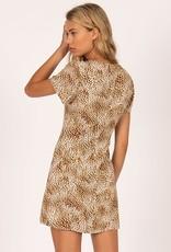 Iman Short Sleeve Woven Dress