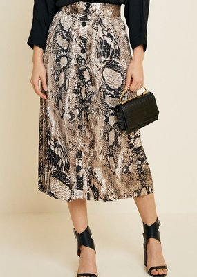 Slither Midi Skirt