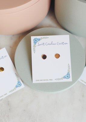 SCC - Solid Circle Earrings
