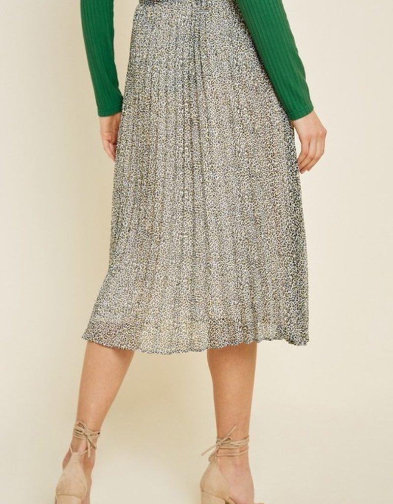 Social Leopard Skirt