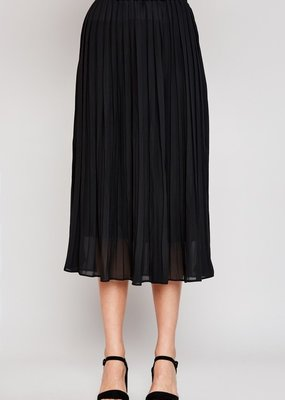 Glam Pleated Skirt