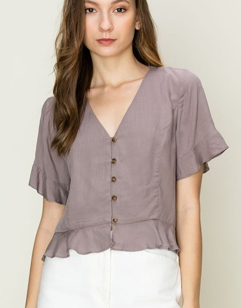 Melody Woven Top