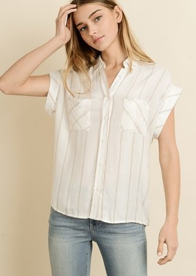 Lyric Stripe Shirt