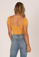 Low Tide S/S Knit Bodysuit