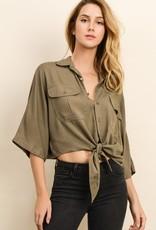 Stella Crop Shirt