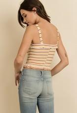 Farrah Stripe Top
