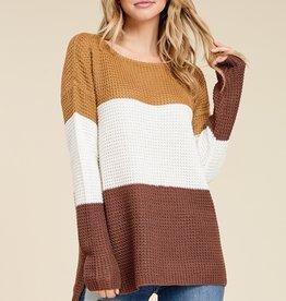 Glow Waffle Sweater