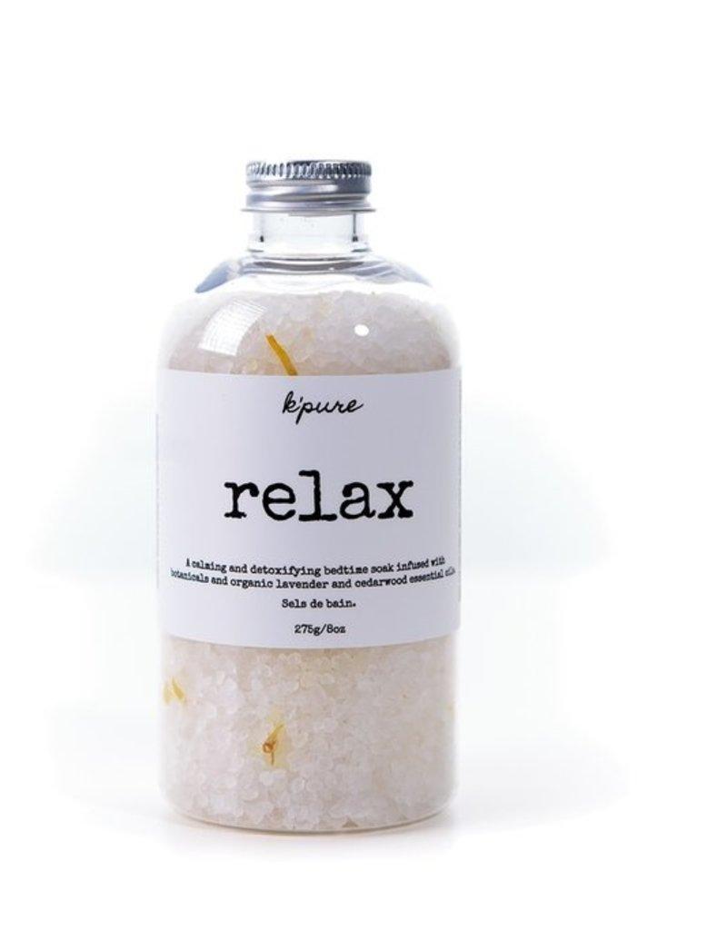 Kpure - Bath Salt Relax 8oz