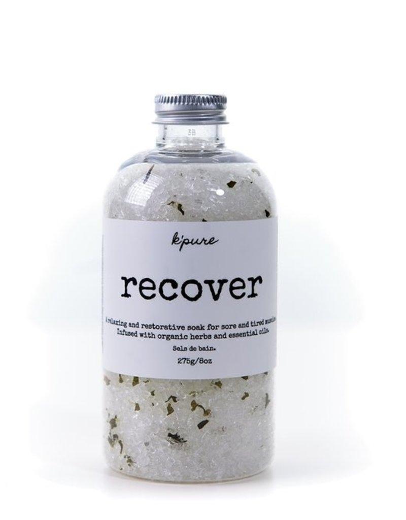 Kpure - Bath Salt Recover 8oz