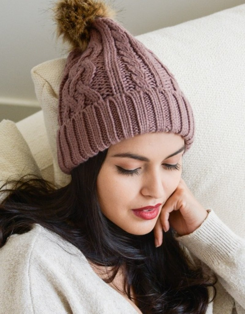 Cypress Cable Beanie