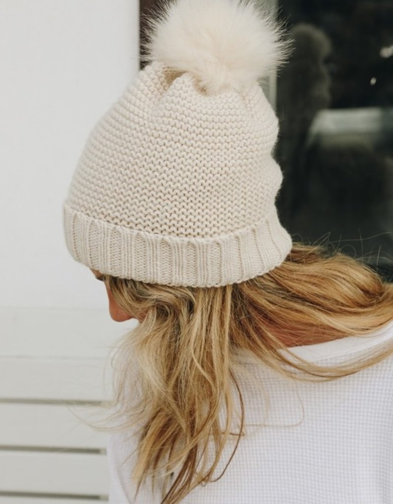 Holly Pom Beanie