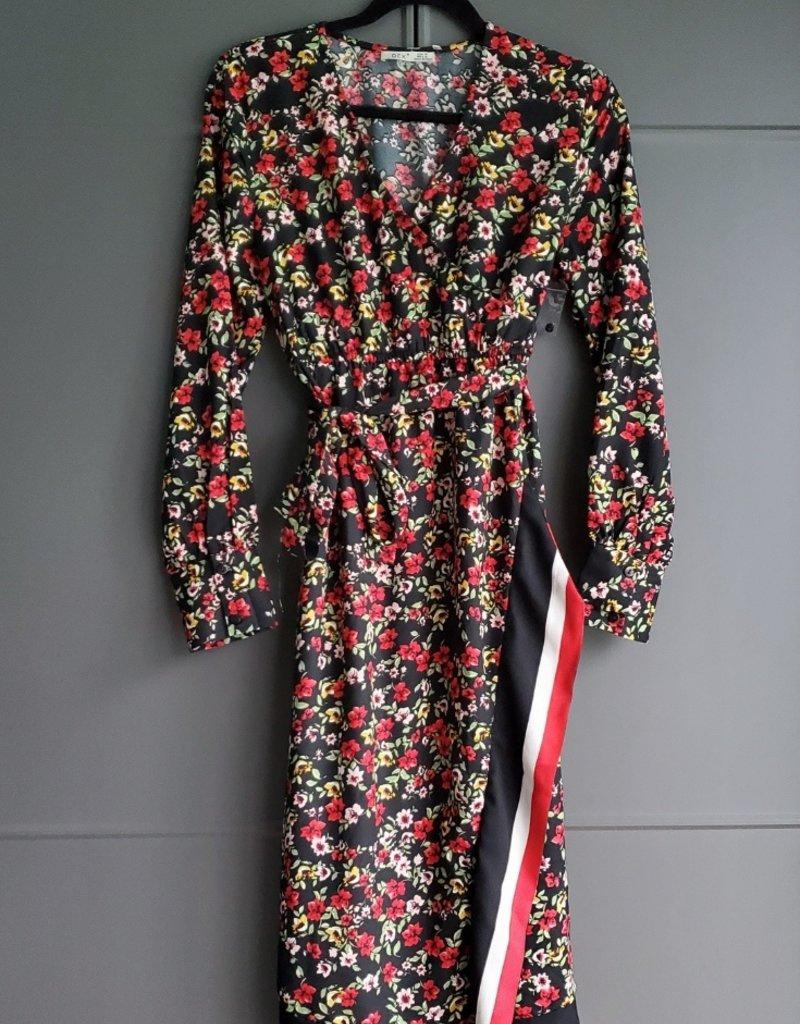Lola Floral Wrap Dress