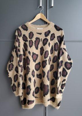 Sasha Leopard Pullover