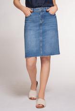 Infinity Denim Skirt