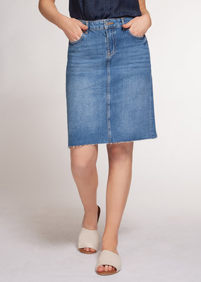 Infinity Denim Skirt