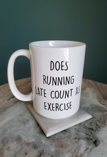 Cotton+Confetti CC - Does running Late Count as Exercise?