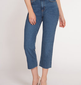 Calla High Rise Straight Leg Denim