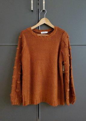 Pretty Pom Sweater