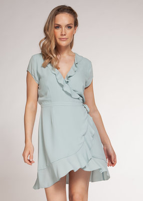 Never Settle Wrap Dress