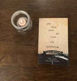 Poetry Bandit PB - You Only Love Me When I'm Suffering