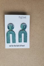 thyCovet TC - Leafy Earrings