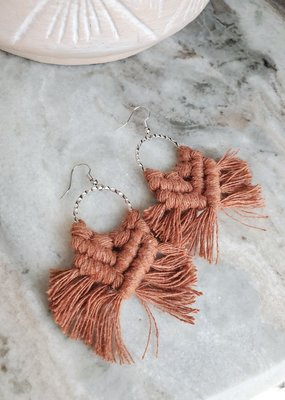 Knotted Ginger KG - Peddle Hoop Silver Rust