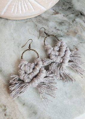 Knotted Ginger KG - Peddle Hoop Bronze/Grey