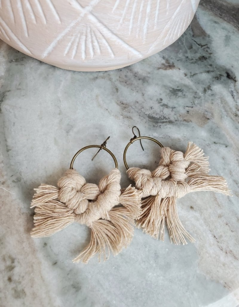 Knotted Ginger KG - Plain Circle Bronze/Tan