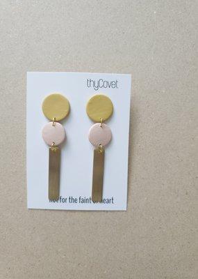 thyCovet TC - Olive Earrings