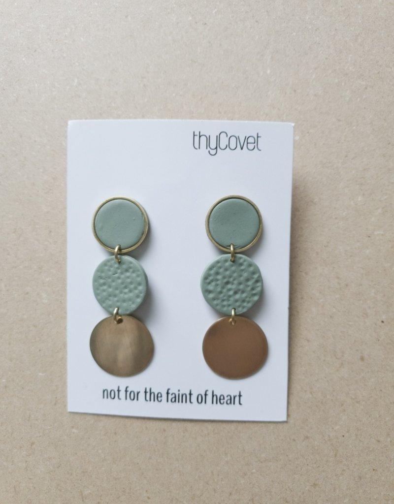 thyCovet TC - Fern Earrings