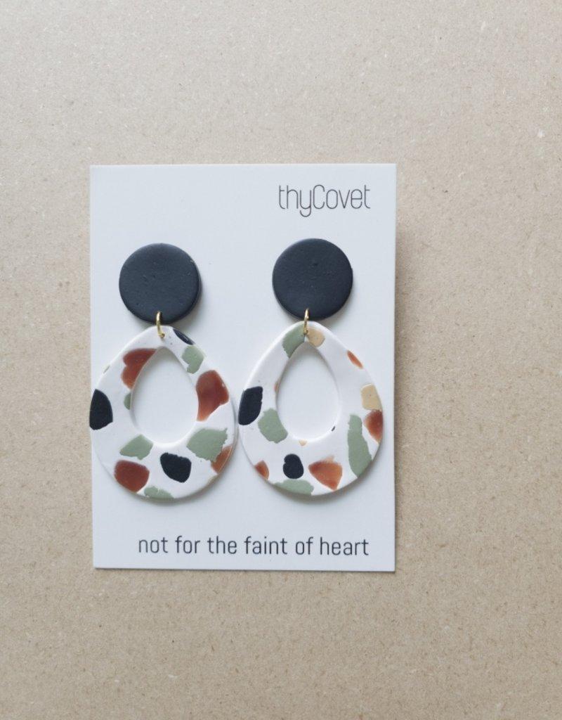 thyCovet TC - Ezra Earrings Black