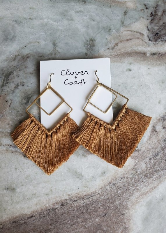 Clover + Coast Clover - Double Diamond Fringe